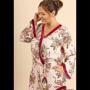 Umgee Dresses - NEW PLUS UMGEE ROMPERS (XL&1XL)
